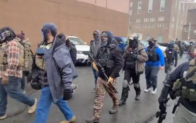 USA | Armed protesters and 25,000 National Guard soldiers in the streets ahead of the Biden inauguration – VIDEO