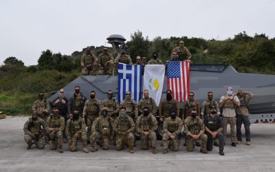 Cooperation upgrade and joint training among Cyprus, Greece and the USA in Souda