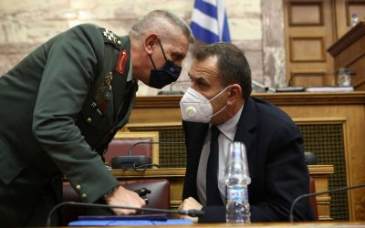 "Nikos Panagiotopoulos | His response about the defence industry and the ""allegations"" about the military leadership"