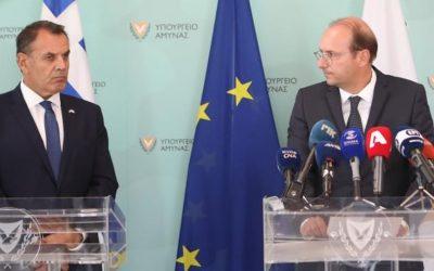Αμυντική διπλωματία και κοινές δράσεις στο 7ο Συμβούλιο Άμυνας Κύπρου – Ελλάδας