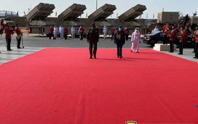 Οι δραστηριότητες του Αρχηγού της Εθνικής Φρουράς στα Ηνωμένα Αραβικά Εμιράτα