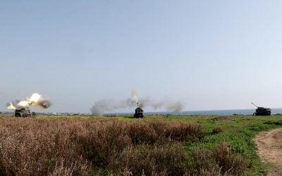 Έπιασαν δουλειά τα νέα αποκτήματα της Ε.Φ – Πρώτη βολή της 2ης Μοίρας αυτοκινούμενων πυροβόλων ΝORA – VIDEO