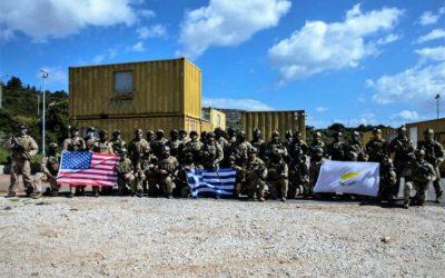 Τριμερής Συνεκπαίδευση Δυνάμεων Ειδικών Επιχειρήσεων Ελλάδας – Κύπρου – ΗΠΑ