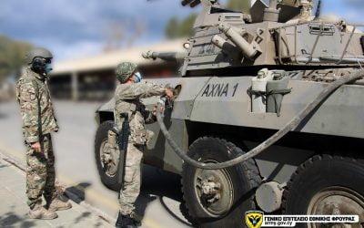 Ανάπτυξη περιοχής Διοικητικής Μέριμνας Μηχανοκίνητης Ταξιαρχίας – Φωτογραφίες