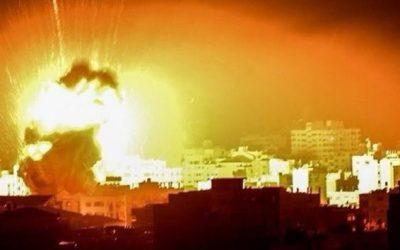 Βίντεο από τους ισραηλινούς βομβαρδισμούς στην Λωρίδα της Γάζας – VIDEO