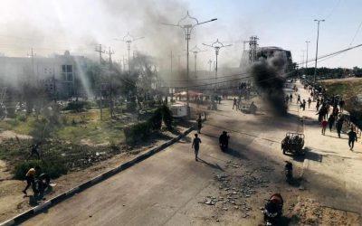 Ρουκέτες έπεσαν σε ιρακινή βάση στην οποία βρίσκονται αμερικανικές και συμμαχικές δυνάμεις