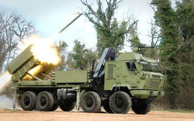 MLRS Tamnava | Μεγάλη ισχύς πυρός με δυνατότητα βολής ρουκετών 122 και 262 χιλιοστών