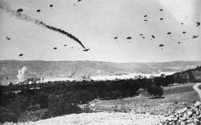 """Η γερμανική επίθεση στην Ελλάδα και η γραμμή """"Μεταξά"""" – Φωτογραφίες&Χάρτης"""