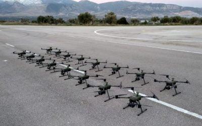 Παραδόθηκαν 32 μη επανδρωμένα αεροσκάφη ATLAS 204 στις Ένοπλες Δυνάμεις – VIDEO