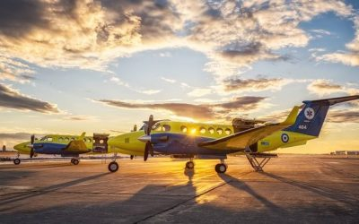 Stavros Niarchos Foundation | Arrival of 2 Beechcraft aircraft for the National Center for Emergency Care – A donation amounting to € 16 million