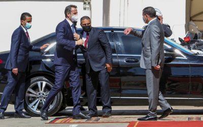 Επανεκκίνηση συζητήσεων για οριοθέτηση ΑΟΖ συμφώνησαν Μητσοτάκης και Λίβυος Πρόεδρος