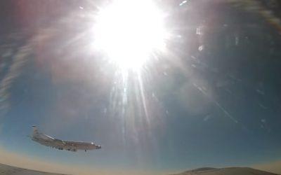 Αναχαίτιση Αμερικανικού αεροσκάφους συλλογής πληροφοριών από Ρωσικό Mig-31 | Βίντεο