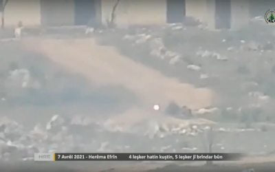 Footage of Kurdish rebel attack on Turkish forces in Afrin – VIDEO