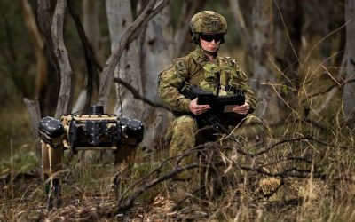 Ghost Robotics quadruped robots for the Australian Armed Forces | Photos