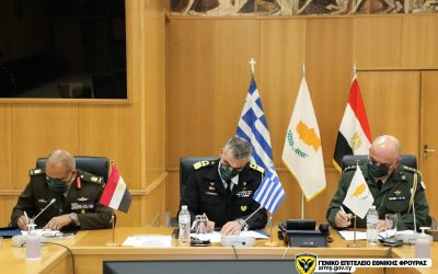 Greece-Cyprus-Egypt sign Tripartite Defence Cooperation Program