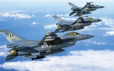 «Ηνίοχος 21» | Ξεκινά στις 12 Απριλίου η πολυεθνική αεροπορική άσκηση
