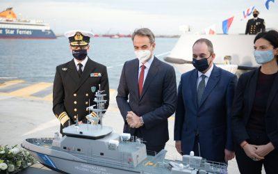 Τελετή ονοματοδοσίας δύο περιπολικών πλοίων CNV P355 στον στόλο του Λιμενικού Σώματος – Φωτογραφίες & VIDEO