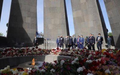 Χαράλαμπος Πετρίδης | Συνάντηση με τον Πρόεδρο της Αρμενίας στο Γιερεβάν