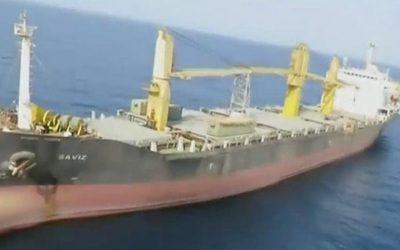 Το ιρανικό πλοίο Saviz δέχθηκε επίθεση από το Ισραήλ με μαγνητικές νάρκες – VIDEO
