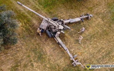 Εθνική Φρουρά | Επιχειρησιακή εκπαίδευση σε αγώνα κατοικημένων τόπων και ανάπτυξης πυροβολαρχίας 155 χιλ – Φωτογραφίες