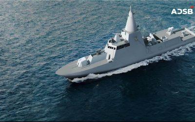 "ADSB – EDGE GROUP | 3.5 billion dirhams for the construction of four ""Falaj-3"" OPVs for the UAE's Navy"