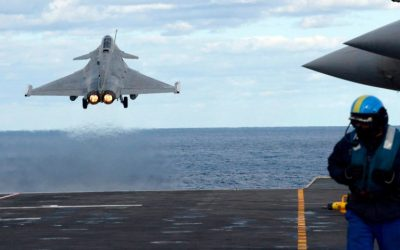 """Exercise """"TALOS 2021""""   French Rafales over Cyprus"""