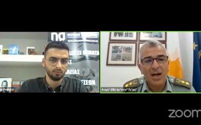 Χρίστος Πιερή | Οι νεοσύλλεκτοι, το προσωπικό και οι συζητήσεις για νέους εξοπλισμούς – VIDEO