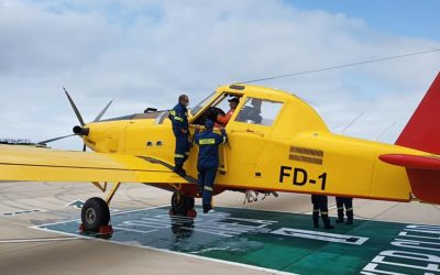 Fire Service | Members' training with Air Tractor firefighting aircraft – Photos