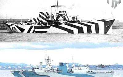 "Dazzle Ships | Το ""εκθαμβωτικό"" μοτίβο παραλλαγής σε πλοία του περασμένου αιώνα που εφαρμόζεται μέχρι και σήμερα – Φωτογραφίες"