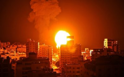 """""""Η εκστρατεία μας εναντίον τρομοκρατών συνεχίζεται"""" – Ακόμη μια νύχτα βομβαρδισμών στη Λωρίδα της Γάζας – VIDEO"""
