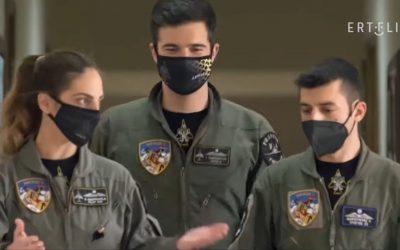 Flying Officer Achillia Georgakila | Perhaps the last female pilot of the legendary F-4E Phantom II – VIDEO