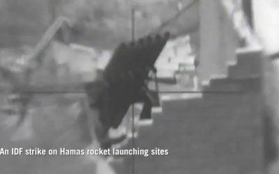 Ισραήλ – Γάζα | Spike NLOS κατά εγκαταστάσεων και εκτοξευτών πυραύλων της Χαμάς – VIDEO