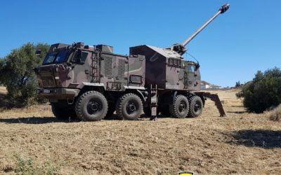 Εθνική Φρουρά | Ασκήσεις Πυροβολαρχίας NORA 155 χιλ. – Φωτογραφίες