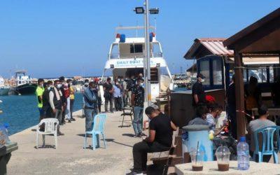 Στο «Πουρνάρα» θα καταλήξουν οι 97 μετανάστες από την Συρία – Συνελήφθη ο κυβερνήτης του σκάφους