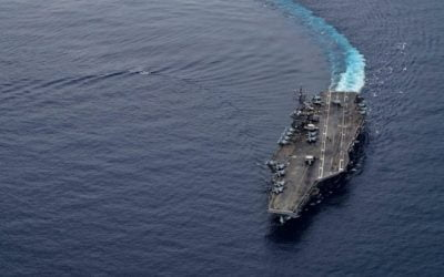 American aircraft carrier enters South China Sea with its strike group