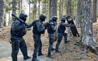 Emergency Response Unit   Footage from exercise in Troodos – Photos