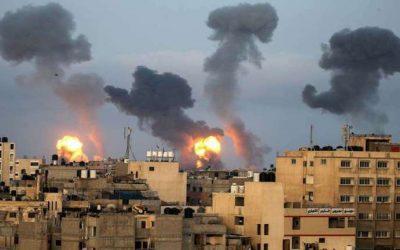 Gaza Strip | Ceasefire violation – Israeli airstrikes against targets – VIDEO