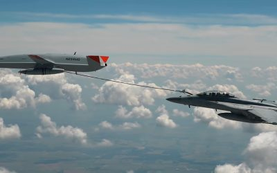 First aerial refueling of an F/A-18 Super Hornet with an unmanned aerial vehicle is a fact – VIDEO