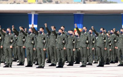Second Lieutenants Class 2021 oath ceremony – 35 Cypriots among them – Photos