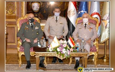 Zervakis in Egypt, meetings with Egyptian Defence Minister and Chief of the Armed Forces
