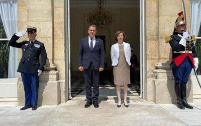 Τhe meeting between Greek and French Ministers of Defence was a constructive one