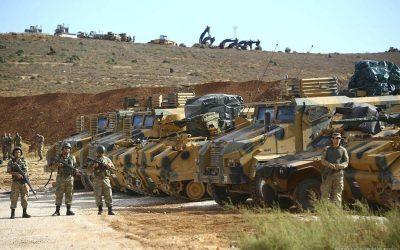 Την απώλεια δύο στρατιωτικών στη Β. Συρία ανακοίνωσε το Τουρκικό Υπουργείο Άμυνας
