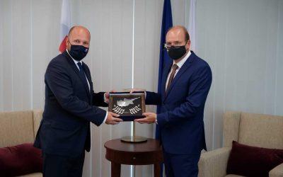 Επίσημη επίσκεψη Υπουργού Άμυνας Σλοβακίας | Φωτογραφίες