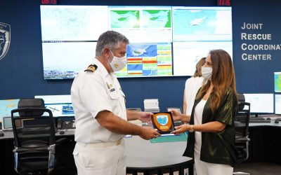 Defense Minister and Deputy Prime Minister of Lebanon visits the JRCC