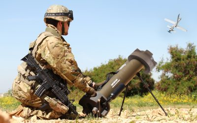 UVision showcases advanced capabilities of loitering munition Hero-120 and Hero-400EC at DEFEA