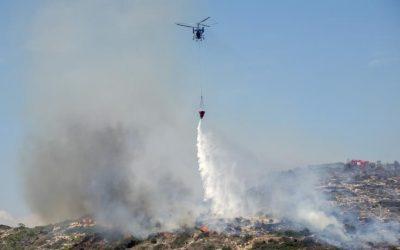Huge fire in Arakapas causes community evacuation – VIDEO