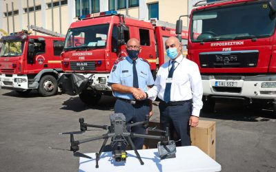 Fire Service | These are the drones donated by the Hellenic Petroleum Group – Photos and VIDEO