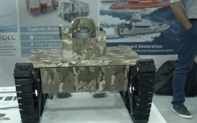 First Responder | The micro unmanned ground vehicle of CYRIC at DEFEA – Photos & VIDEO