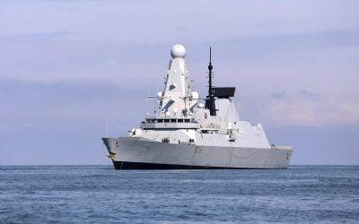 Ηνωμένο Βασίλειο   Μόνο ένα από τα έξι Type 45, είναι διαθέσιμο για το Βασιλικό Ναυτικό