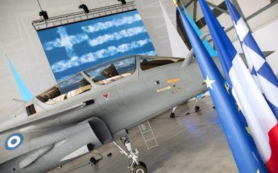 Στην εποχή των Rafale η Πολεμική Αεροπορία – Τελετή παράδοσης του πρώτου αεροσκάφους – Φωτογραφίες